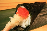 536. Ebi Ten Hand Roll