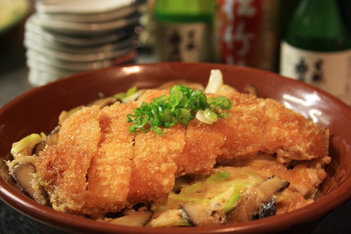 201. Katsu Don (Chicken)