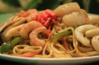 323.Seafood Yaki Soba