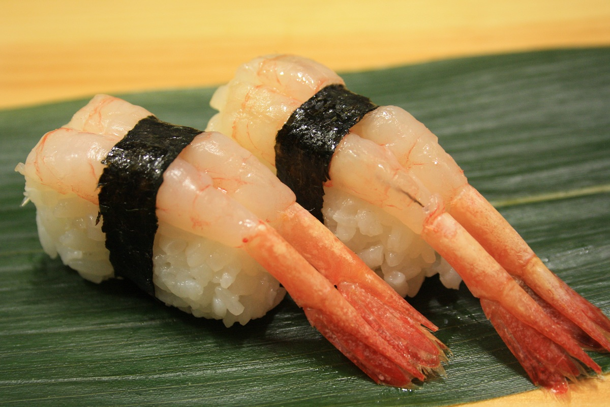 405. Amaebi (Sweet Shrimp) Nigiri