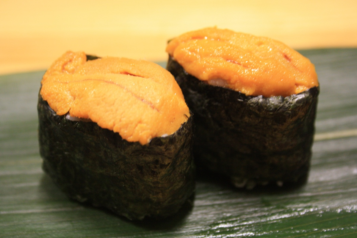 412. Uni (Sea Urchin) Nigiri (Canton branch only)