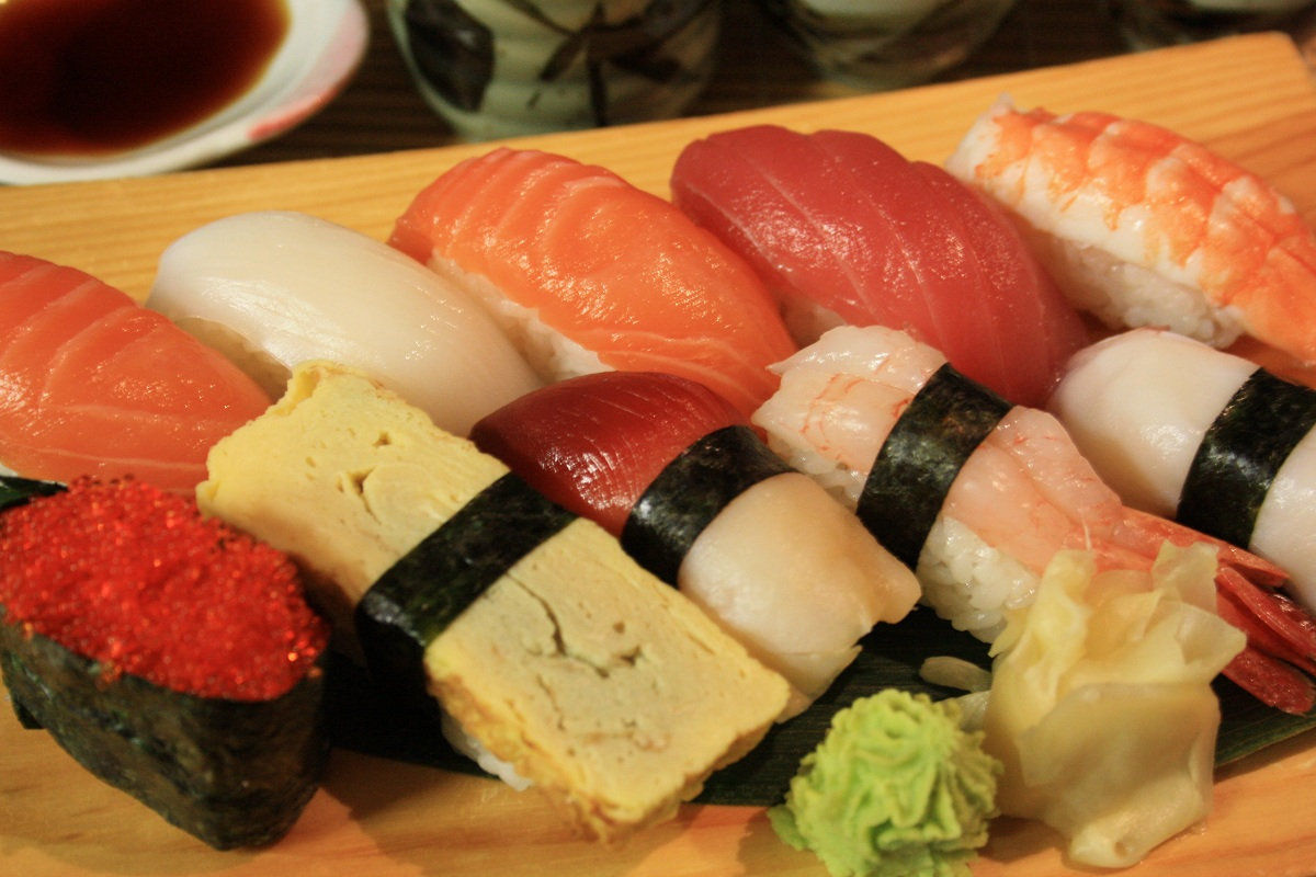 416. Mixed Nigiri (10 Pieces)