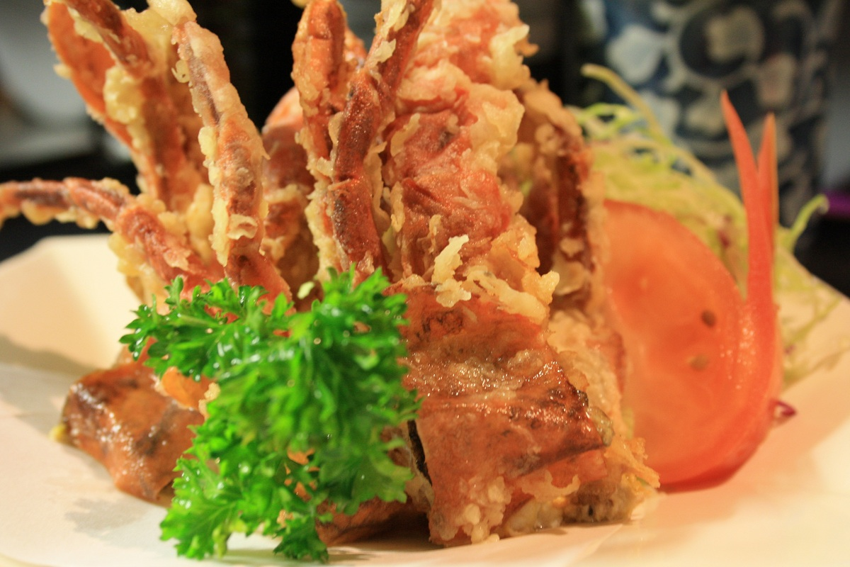 718. Soft Shell Crab Karaage