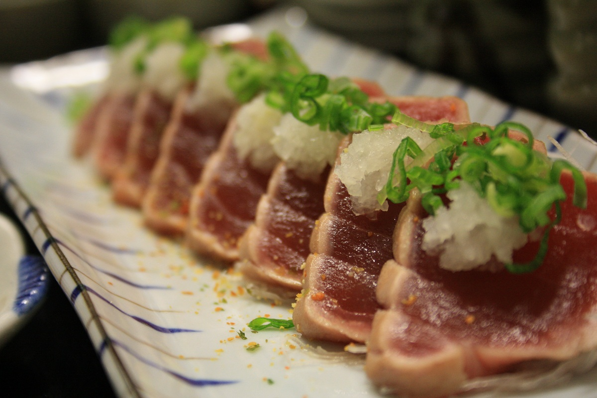 745. Tuna Tataki